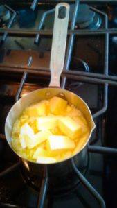 ghee recipe - melt the butter
